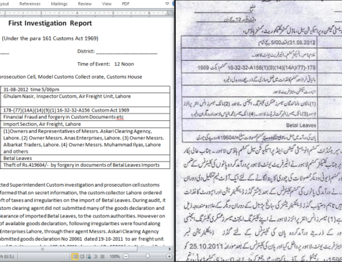 Legal Document Urdu Translation