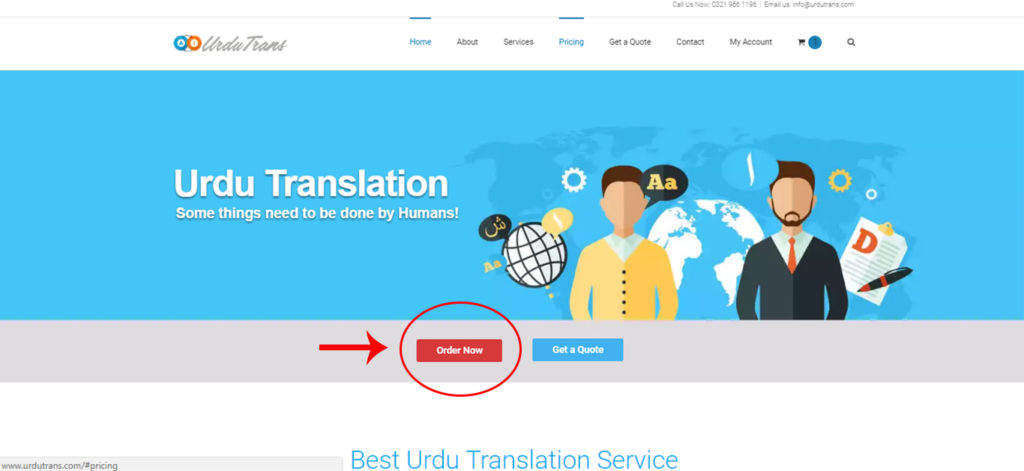 order-urdu-translation